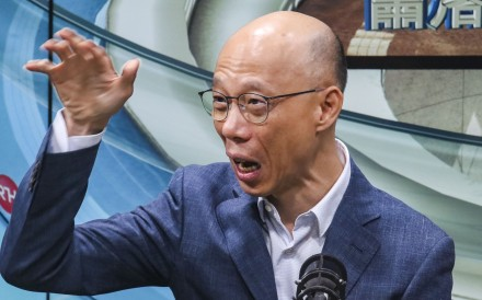 """Secretary for the Environment Wong Kam-sing has urged Hong Kong to embrace the waste-charging scheme, saying the levels of waste do not """"match our image as an international city"""". Photo: Felix Wong"""