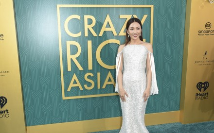 Constance Wu arrives at the premiere of 'Crazy Rich Asians' in Los Angeles on August 7. Photo: Richard Shotwell/Invision/AP