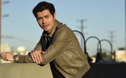 Henry Golding starred in the hit film Crazy Rich Asians and was named as one of 2018's Breakthrough Entertainers of the Year by the Associated Press. Photo: AP