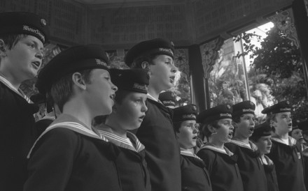 An archaic labour law meant the Vienna Boys Choir could not perform over Christmas in 1978. Photo: SCMP Archive