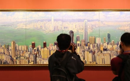 An art exhibition in Beijing is held to celebrate the 40th anniversary of China's reform and opening up. Photo: Xinhua