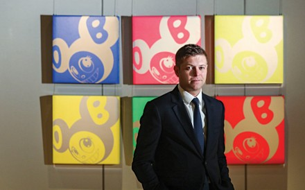 Hong Kong-based Sam Hines is worldwide head of watches at Sotheby's. Photo: Dickson Lee