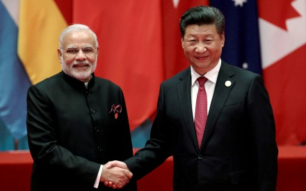 Indian Prime Minister Narendra Modi and Chinese President Xi Jinping in 2016. Photo: Reuters