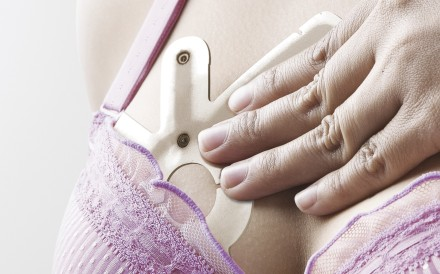 The iTBRA sensor. This bra insert detects early signs of breast cancer.