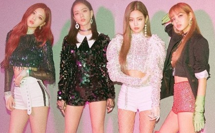 The K-pop girl group BLACKPINK, which will perform two concerts at this year's Coachella 2019 music festival in California – on April 12 and 19. Photo: Facebook