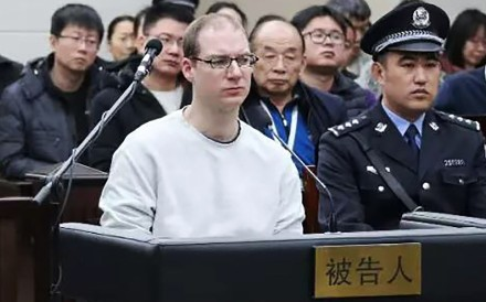 Robert Lloyd Schellenberg's retrial took place on Monday after his previous 15-year prison sentence was deemed too lenient. Photo: AFP