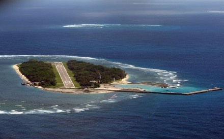 Taiping Island in the South China Sea was claimed by Taiwan after the second world war. Photo: AFP