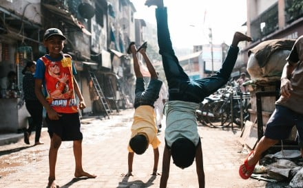 Mumbai's Dharavi slum is home to a growing number of hip hop, acting and coding classes for disadvantaged children from the area. Photo: Shutterstock