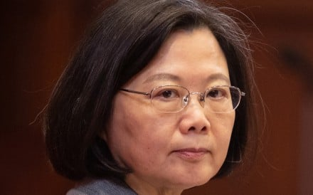 "Tsai Ing-wen, Taiwan's president, has enjoyed a boost in public opinion polls which has been attributed to her strong rebuke of Beijing's call for unification talks based on ""one China, two systems"". Photo: Bloomberg"