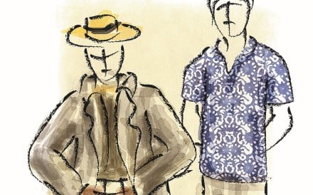Southeast Asian-born 'uncles' sported batik shirts, while Californian expatriates preferred a Western-style suit and boater hat.