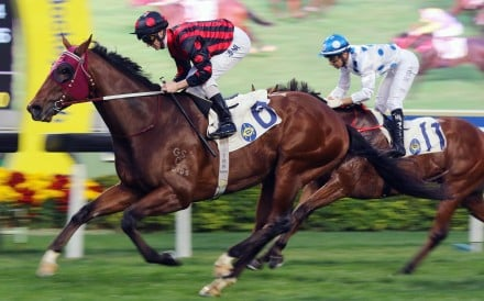 Good Standing coasts home for his first win in Hong Kong. Photos: Kenneth Chan