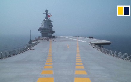 Huge show of strength : China's largest ever naval review