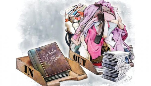 How to declutter: experts offer tips for organising small flats