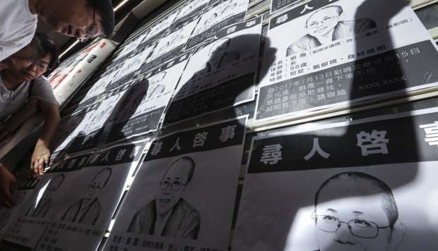 Hong Kong democracy activists continue campaign for Liu Xia's release despite alleged kidnapping