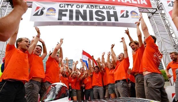Dutch team wins 3,000km solar car race in Australia