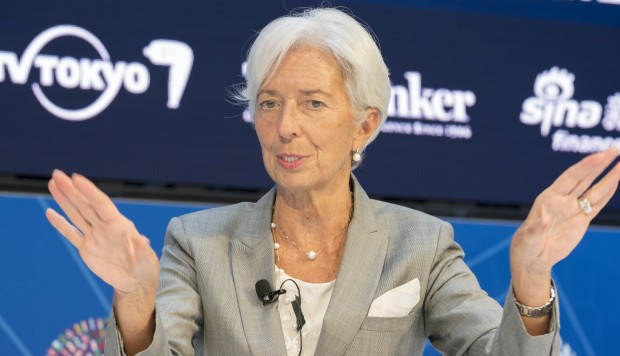 IMF chief believes world's economy faces threats which could derail recovery