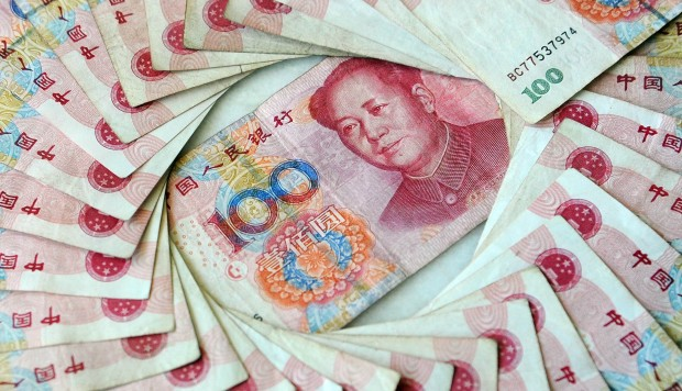 Chart of the day: Looking for a yuan burst