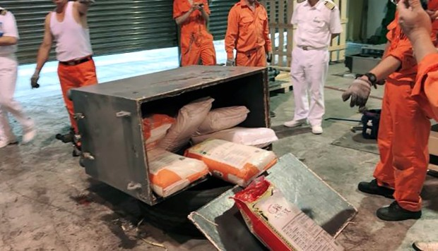 HK$102 million in ketamine found in machine shipped to Taiwan