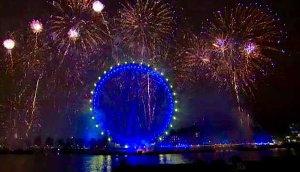 Image result for People think London's New Year's Eve firework display was the most epic act of trolling ever