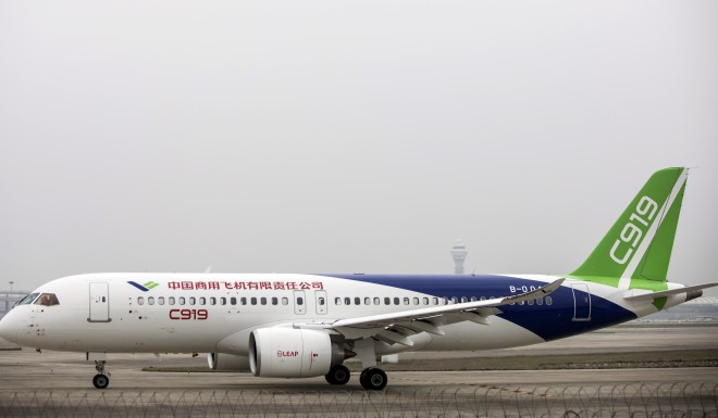 China has made significant advancements in technology since embarking on economic reforms in the late '70s. For example, C919, China's first passenger plane, made its maiden flight in Shanghai last May.