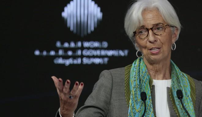 Christine Lagarde, head of the International Monetary Fund, warned last month against retaliatory tariffs between countries.