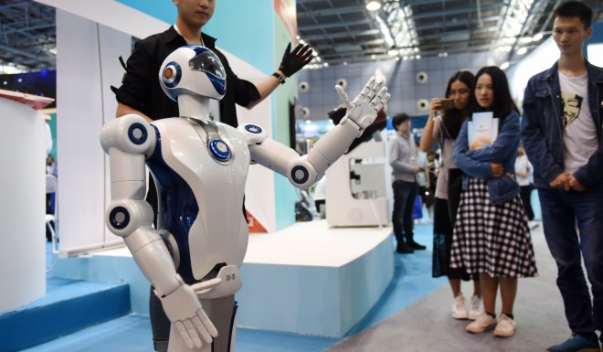 China's 'Made in China 2025' initiative describes a development plan to turn the country into a superpower in emerging high-tech sectors such as robotics and artificial intelligence.