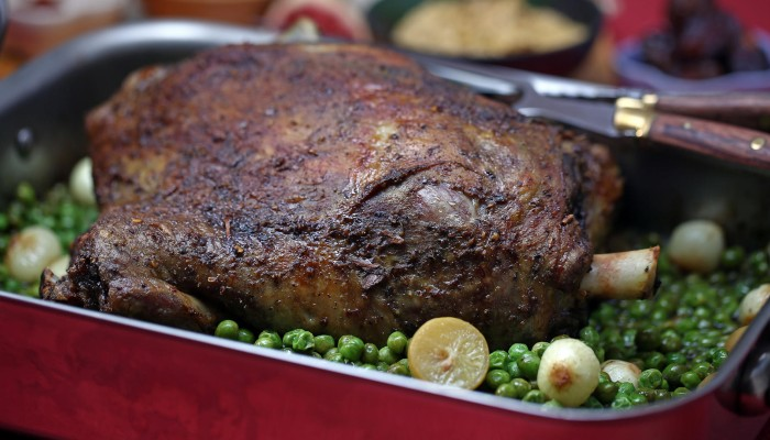 Susan Jung's recipe for slow-cooked lamb shoulder with ras el hanout ...