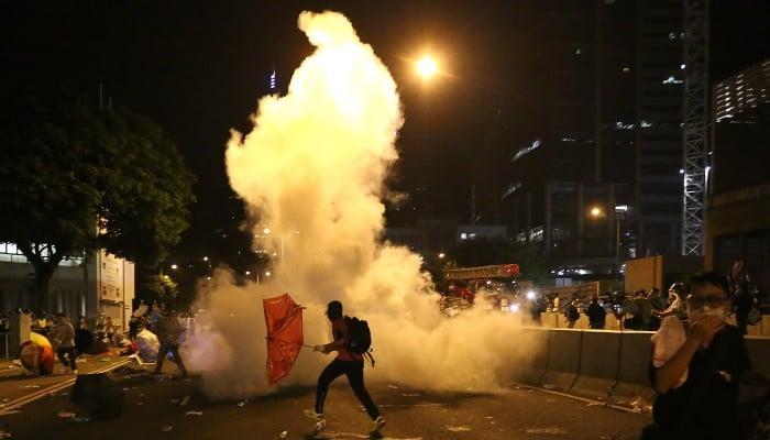 Occupy Central - Magazine cover