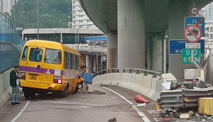 Nine people, including seven primary school pupils, hurt as school
