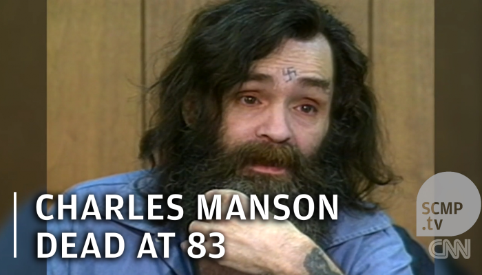 Charles Manson Dead >> Charles Manson dead at 83   South China Morning Post