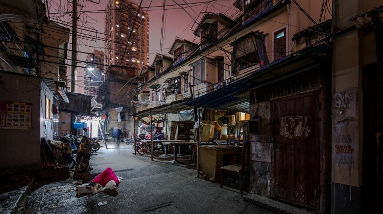 The run-down lane houses of Laoximen are the latest to fall to the wrecker's ball in China's biggest city, where fans of its old buildings hope more can be done to renovate those worth saving so residents can stay put and live better