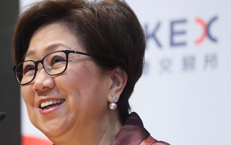 Laura Cha Checks In As Hong Kong Exchange's First Woman Chief In Its 127-year History