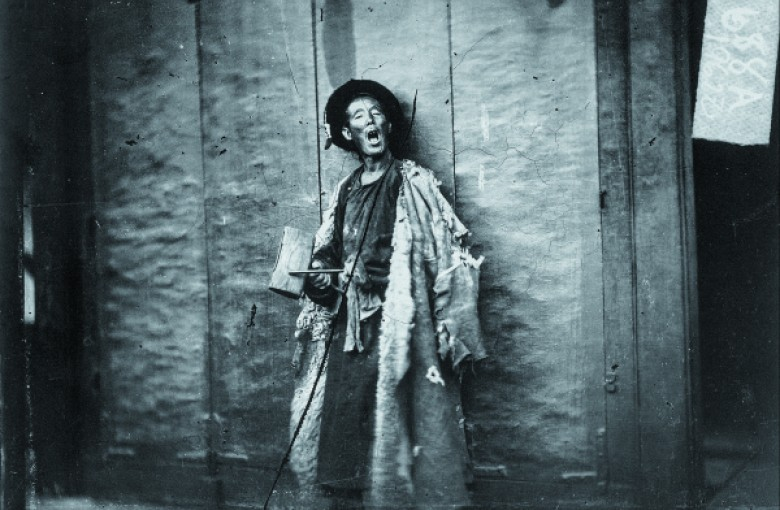 Old Wang, a night watchman employed by a French-owned hotel in Beijing, 1871-72,