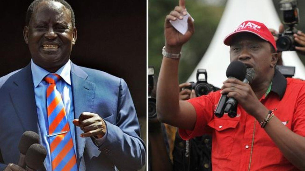 Image result for Kenyatta expresses fear of possible violence during poll