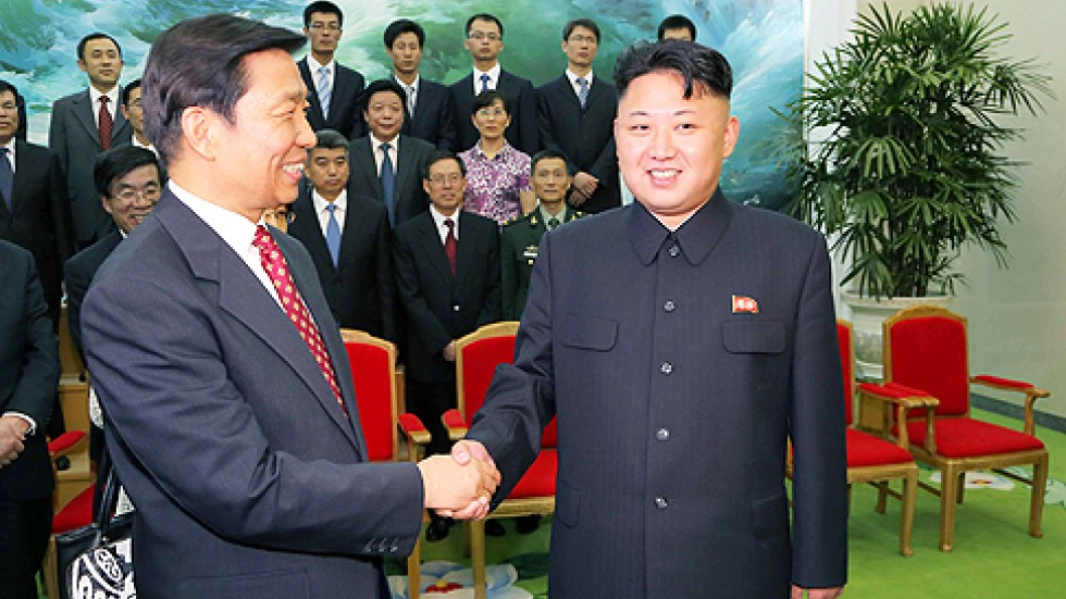 Obama And Kim Jong Un Shaking Hands