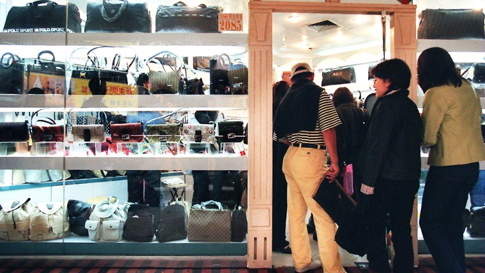 Faking It Sophisticated Chinese Counterfeiters Even Create Hong - Fake invoice maker burberry outlet online store