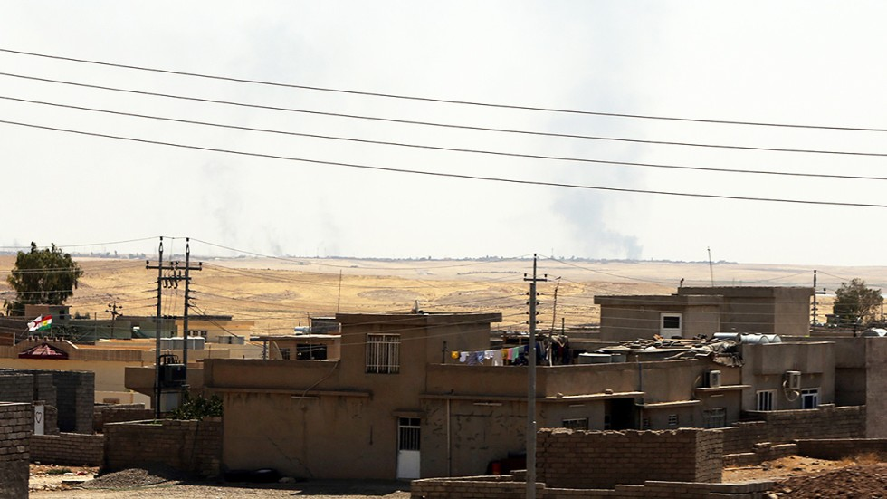 best loved 4829a 180f2 Kurdish forces recapture key Iraqi dam as US, Britain step up support