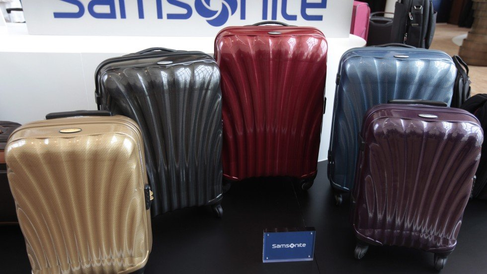 asia continued to drive samsonite luggage sales in third quarter