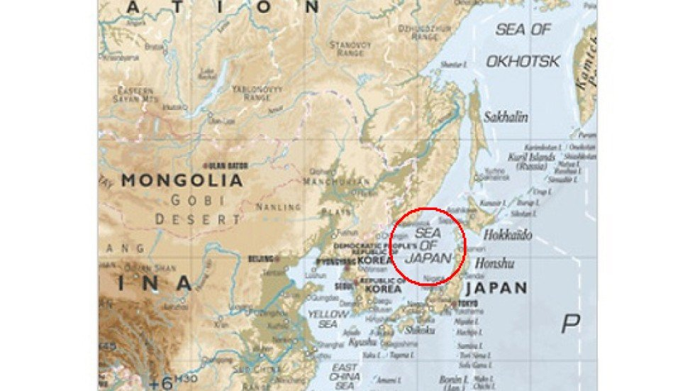 Ikea Forced To Recall Sea Of Japan Poster Worldwide After Korean - Japan map poster