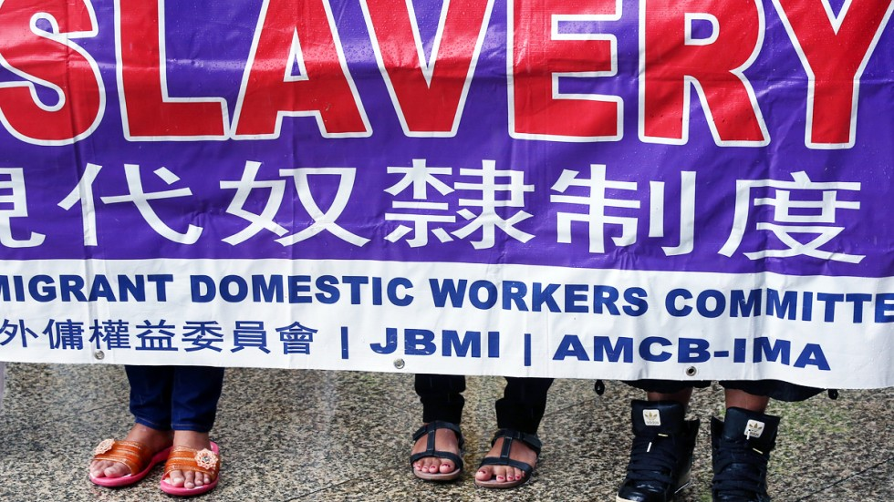 Hong Kong Domestic Helpers Arrested In Crackdown On Live Out Maids
