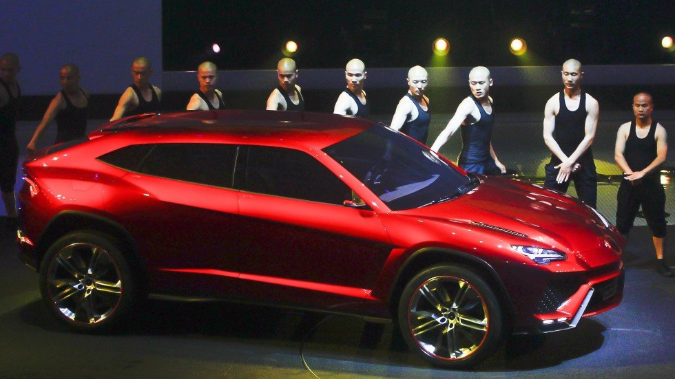 Lamborghini Suv Will Hit The Roads In 2018 Sports Car