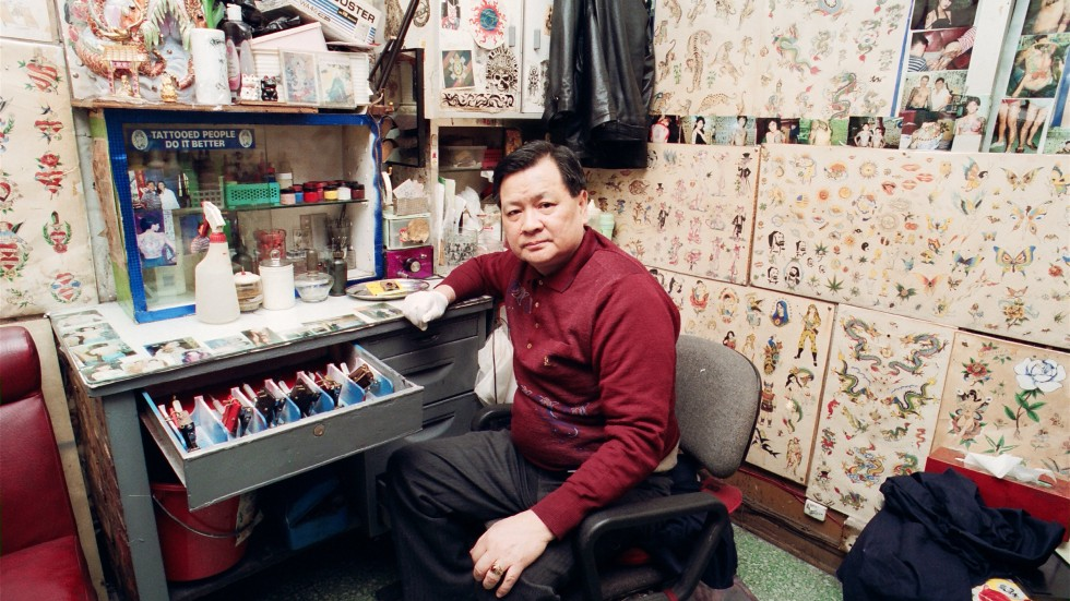 In pictures ricky pinky s tattoo parlour 40 years of for Hong kong tattoo