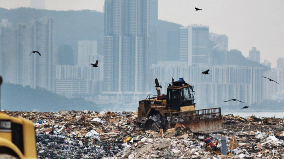 Hong Kong has a monumental waste problem