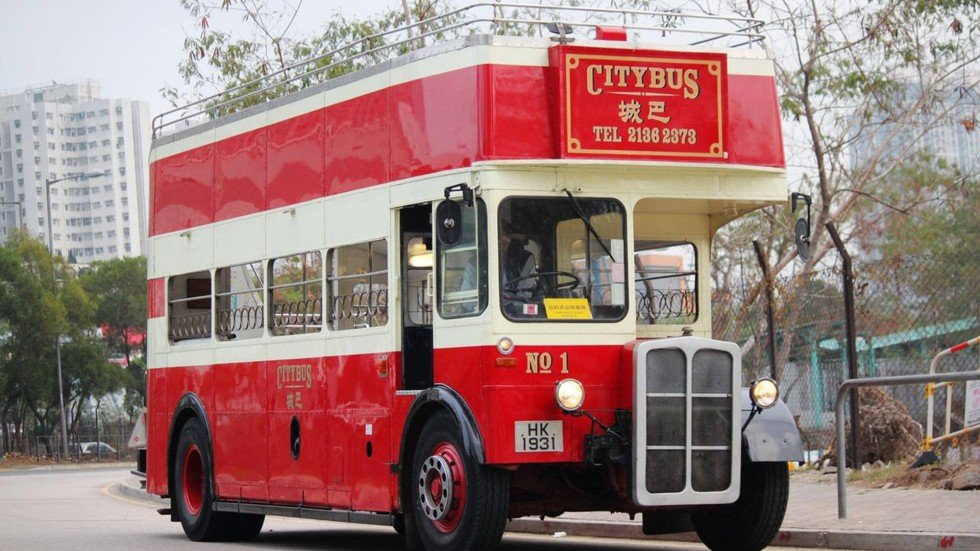 citybus condemns classic routemaster bus to scrap heap so it can claim hong kong clean fuel. Black Bedroom Furniture Sets. Home Design Ideas