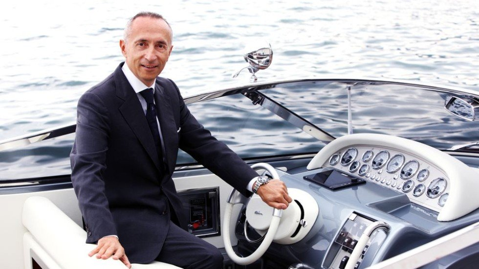 Ferretti Group CEO Alberto Galassi is pushing the yacht company full ...