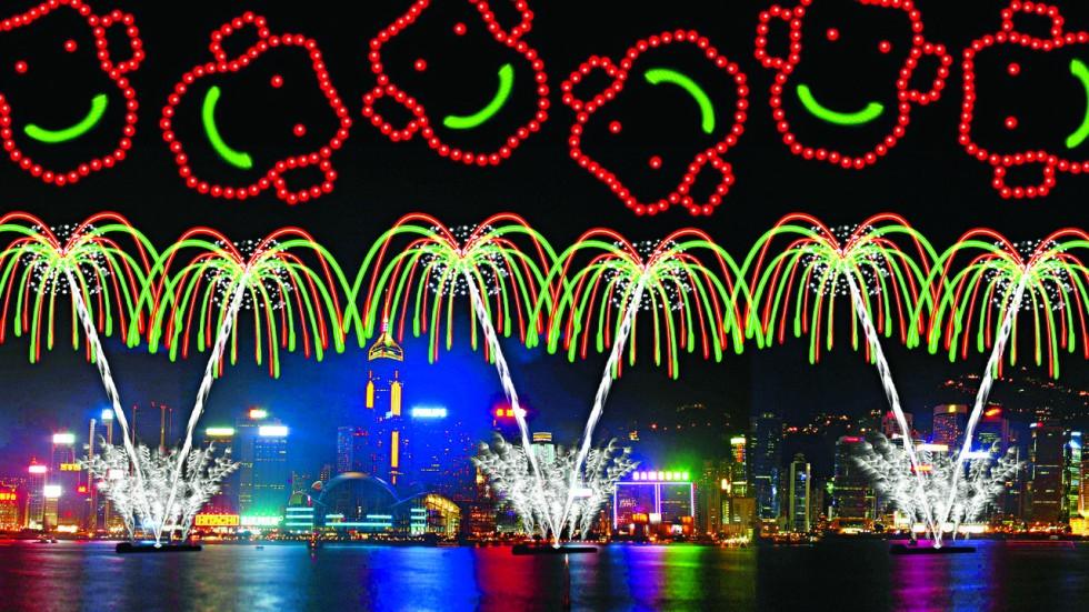 rene pastor - Chinese New Year Fireworks