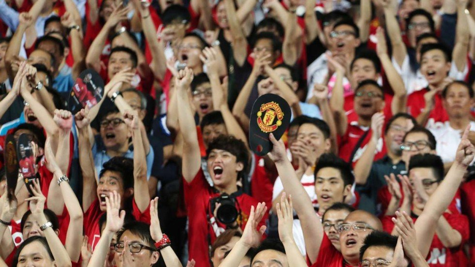 Image result for Manchester United tour of china