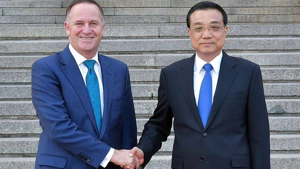 China Looks To Broaden Free Trade Agreement With New Zealand South