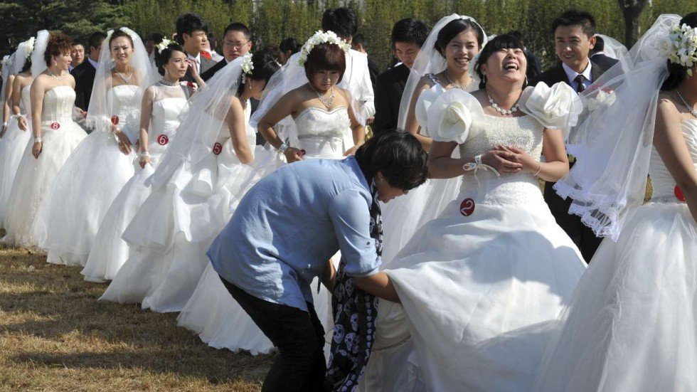 Marrying a chinese woman in china
