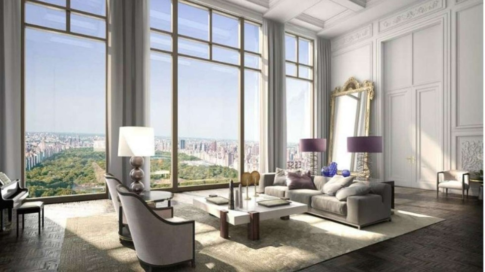 Trophy apartment set to list for us 250 million as new for New york city penthouses central park